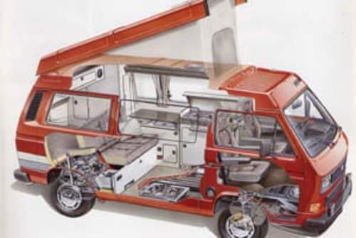 Wohnmobil mieten in Berlin von privat | VW Bus T3 Club Joker