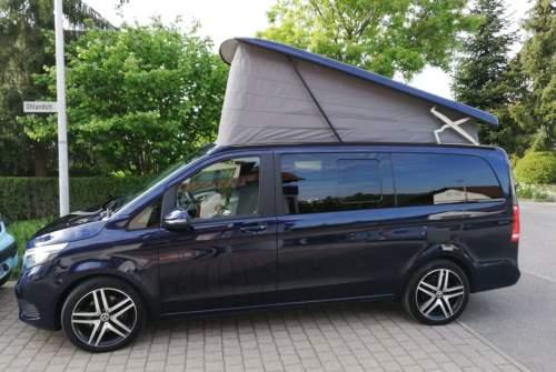 Wohnmobil mieten in Stuttgart von privat   Mercedes V Klasse Marco Polo Blue Love