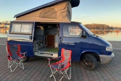 Wohnmobil mieten in Rostock von privat | VW T4 Hirsch