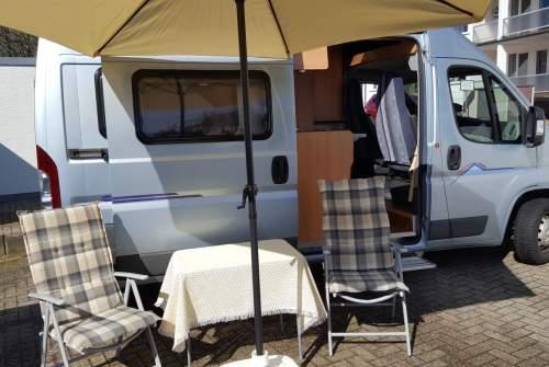 wohnmobil cara 447 in remscheid mieten. Black Bedroom Furniture Sets. Home Design Ideas