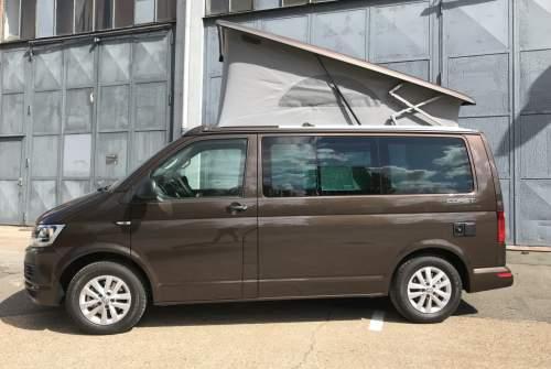 Wohnmobil mieten in Hamburg von privat | VW Bobby Brown