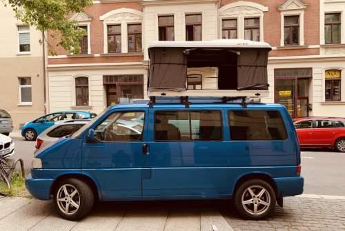 Wohnmobil mieten in Halle von privat | Volkswagen Blau Bär