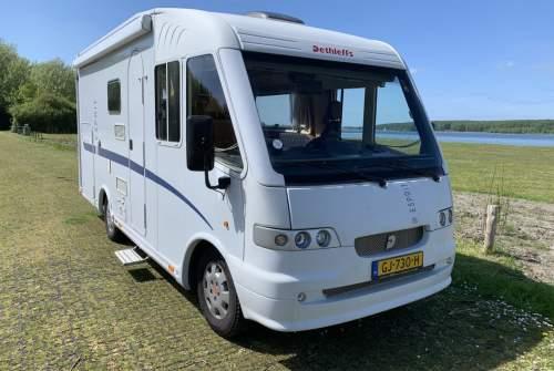 Wohnmobil mieten in Kloetinge von privat | Fiat Integraal Dethleffs  Dethleffs 630