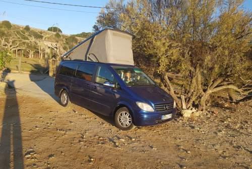 Wohnmobil mieten in Madrid von privat   Mercedes Benz Viano Merry