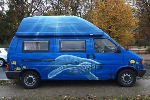 Wohnmobil mieten in Hannover von privat | VW Der blaue Wal