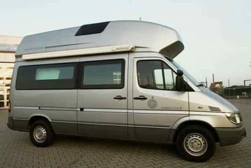 Wohnmobil mieten in Dinslaken von privat | Mercedes-Benz James