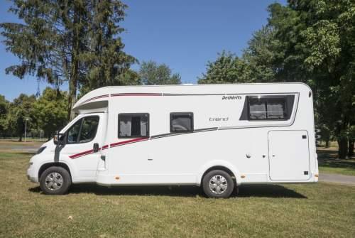 Wohnmobil mieten in Willich von privat | Dethleffs Trend  Alfredo