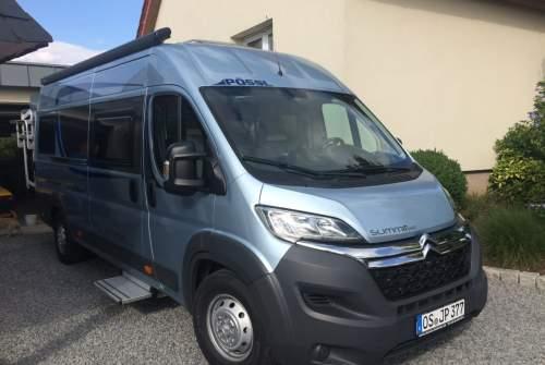 Wohnmobil mieten in Hasbergen von privat | Pössl Summit 640 Pössl Summit 640  Autark