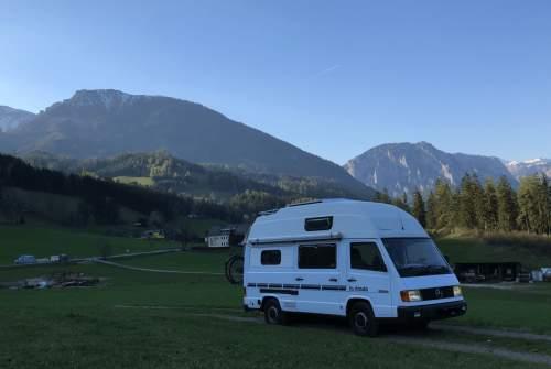 Wohnmobil mieten in Wien von privat | Mercedes Kutter