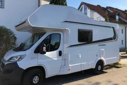 wohnwagen nomad in woringen mieten. Black Bedroom Furniture Sets. Home Design Ideas