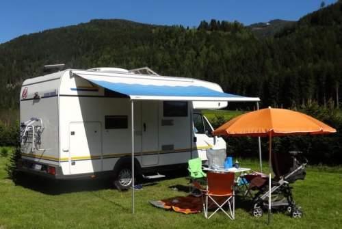 Wohnmobil mieten in Purkersdorf von privat | Euramobil FamilyWoMo
