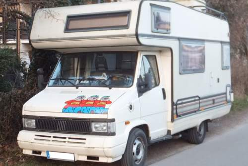Wohnmobil mieten in München von privat | Fiat Oskar