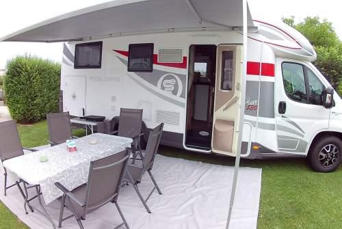 Wohnmobil mieten in Ziersdorf von privat   Fiat Andalu Mobil