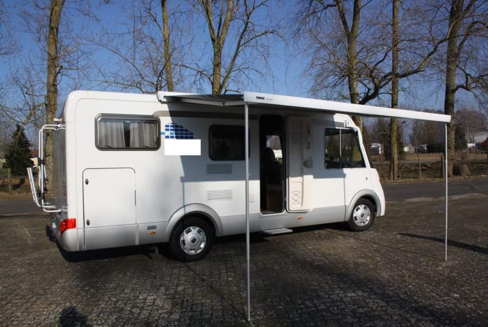 Wohnmobil mieten in Greifswald von privat | Hymer Jan's Camper