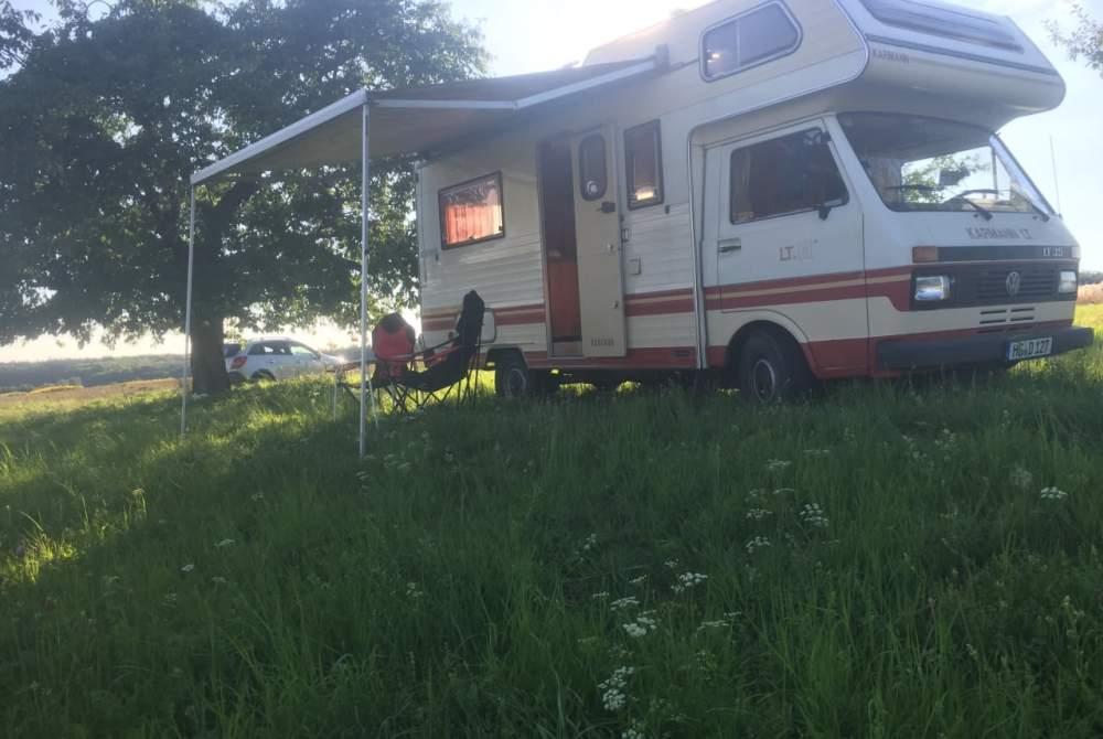 Wohnmobil mieten in Wehrheim von privat | Volkswagen  Der Erste