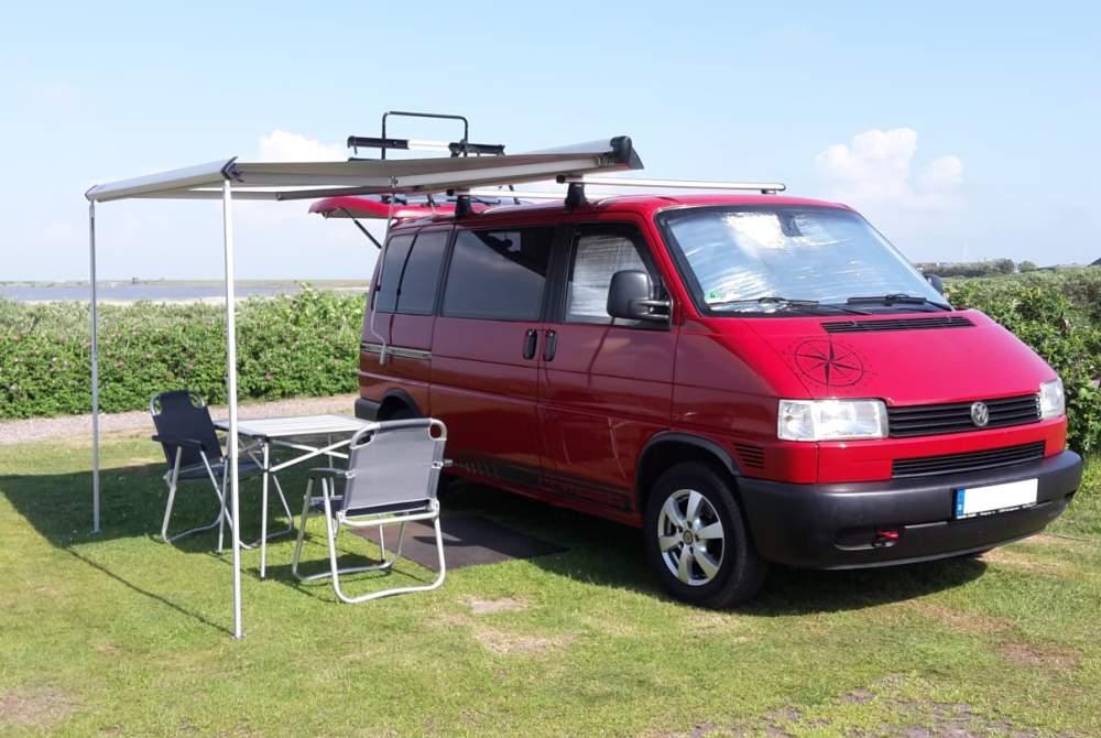 Wohnmobil mieten in Bad Nenndorf von privat | Volkswagen Bulli der Camper