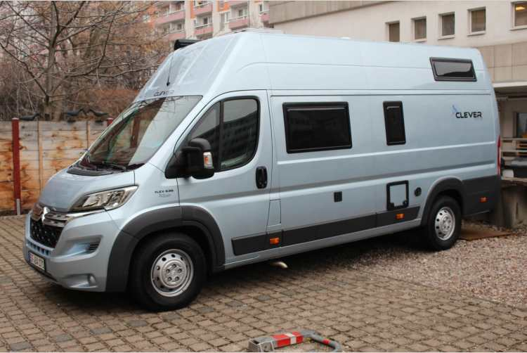 camper clever flex d 636 citroen jumper 2 2 hdi in erfurt. Black Bedroom Furniture Sets. Home Design Ideas