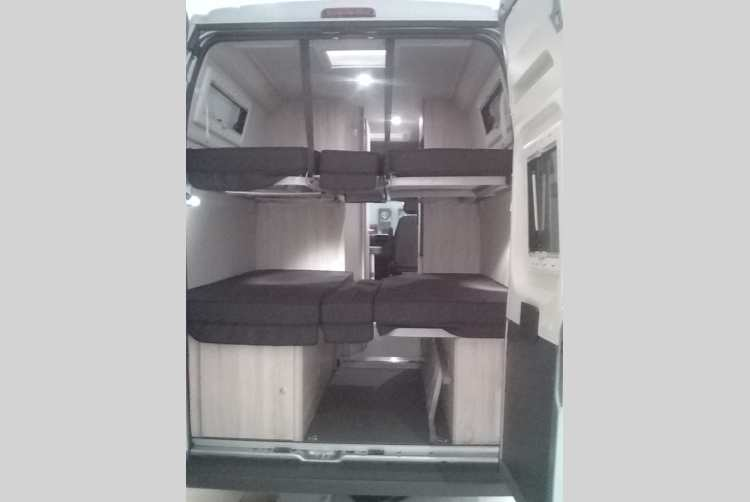 camper clever flex d 636 citroen jumper 2 2 hdi in erfurt. Black Bedroom Furniture Sets. Home Design Ideas
