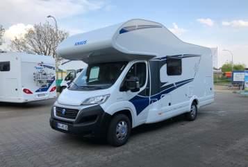 Wohnmobil mieten in Kempen von privat | Knaus Family Camper Six