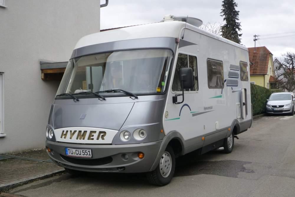 Wohnmobil mieten in Nehren von privat   Hymer  Hymer B 524