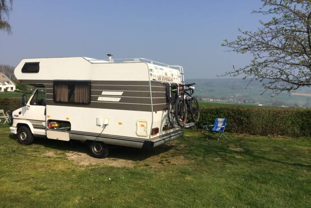 Wohnmobil mieten in Didam von privat | Fiat Hymer