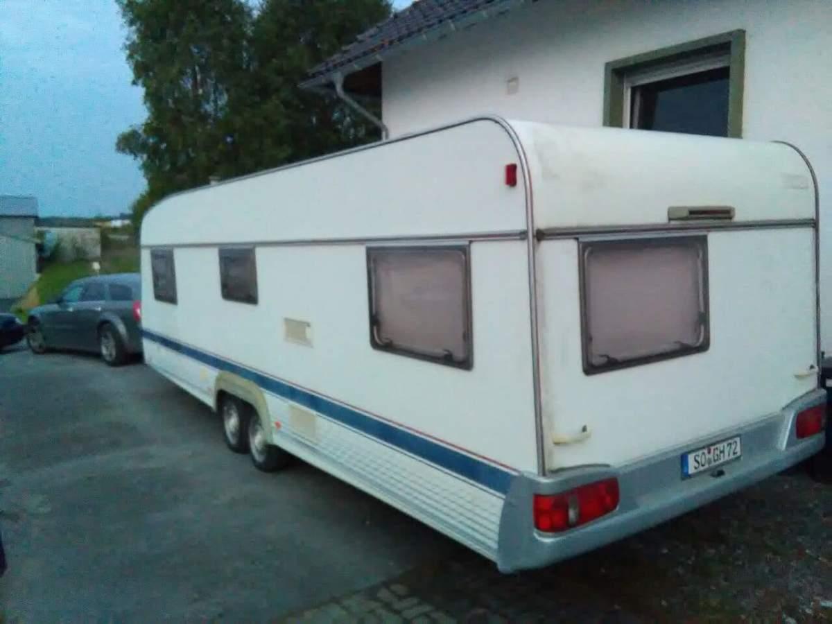 wohnwagen long vehicle 8 personen 1900kg in warstein mieten. Black Bedroom Furniture Sets. Home Design Ideas