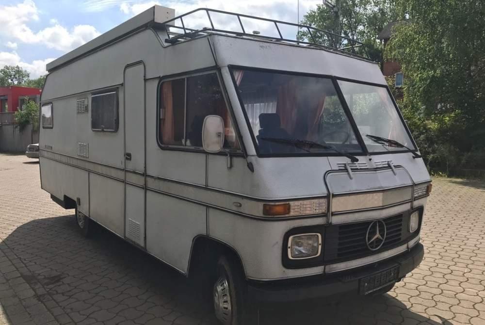 Wohnmobil mieten in Velen von privat | Mercedes  Sammy