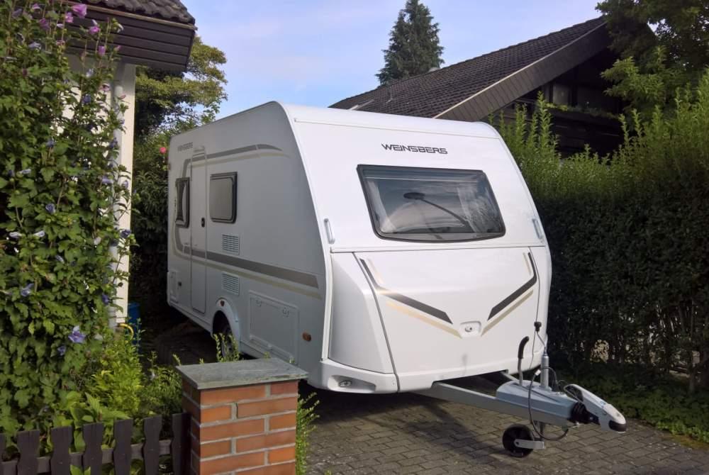 Wohnmobil mieten in Reinheim von privat   Weinsberg Weinsberg Caraone 390 QD 2017er Modell