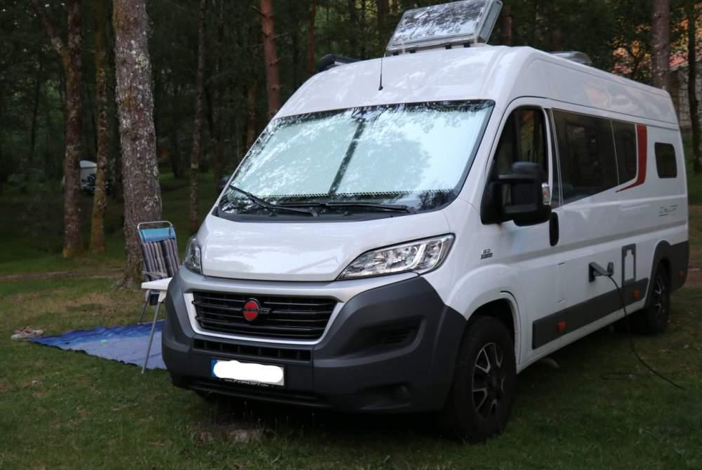Wohnmobil mieten in Jena von privat | Bürstner CityCarJena
