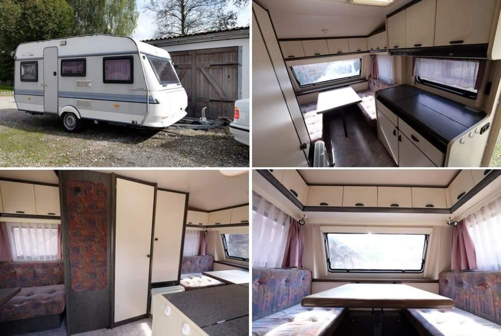 Wohnmobil mieten in Weißenhorn von privat   Hobby Hobby 430 TK Classic, ideal für Ehepaare oder Familien mit Kleinkind(er) direkt an der A7 Richtung Allgäu