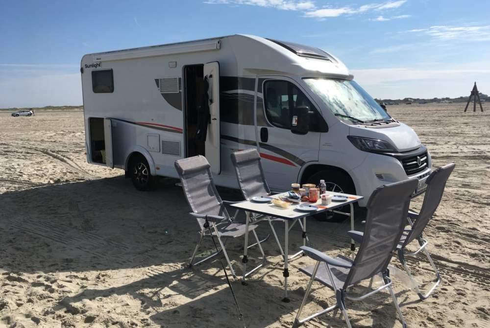 Wohnmobil mieten in Vellmar von privat   Fiat Trudi