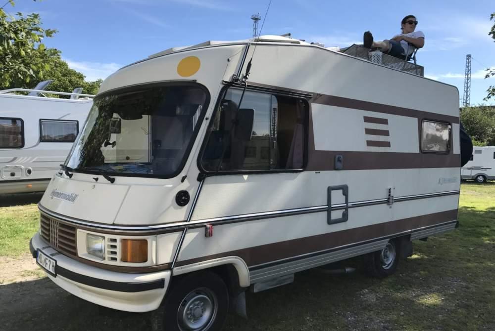Wohnmobil mieten in Schönebeck (Elbe) von privat | Hymer -Eriba Oldtimer Franky´s Camper