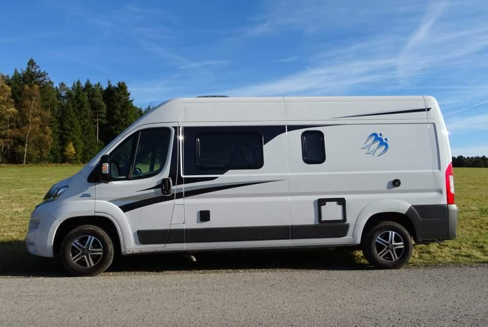 Wohnmobil mieten in Lauterbach von privat | Knaus Boxstar  Olivers - Camper