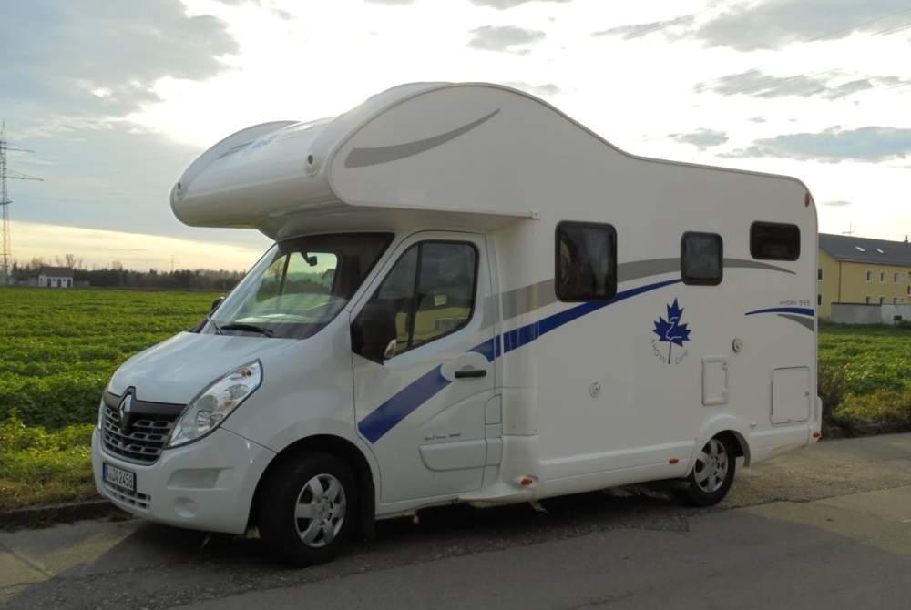 Wohnmobil mieten in Stadtbergen von privat | Renault Master Reisewal