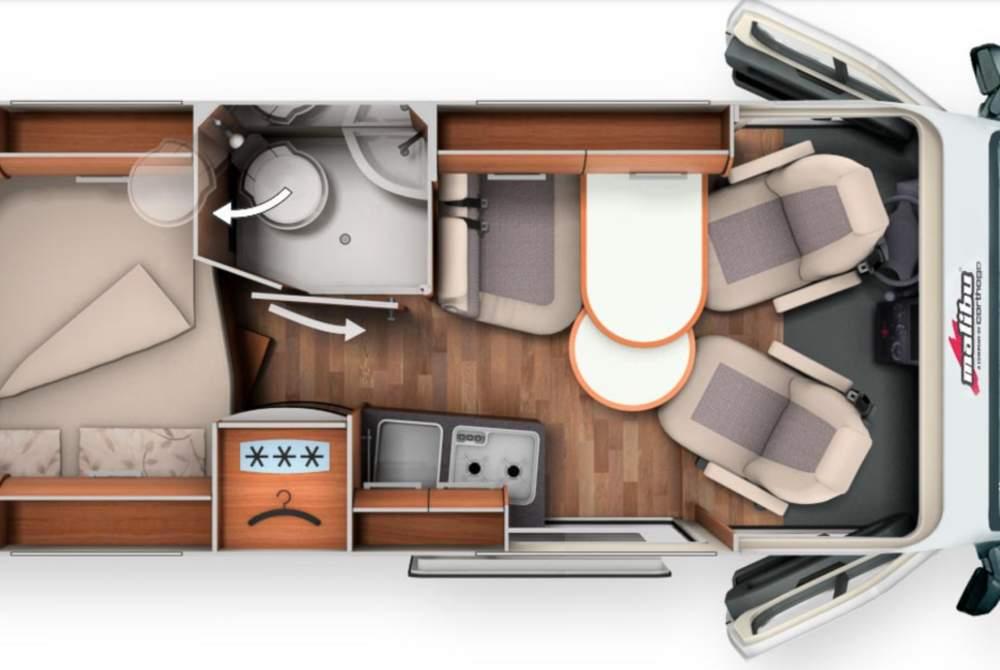 Wohnmobil mieten in Callenberg von privat | MALIBU Noah2Go (ein exquisiter MALIBU) incl. INTERNET-FLAT