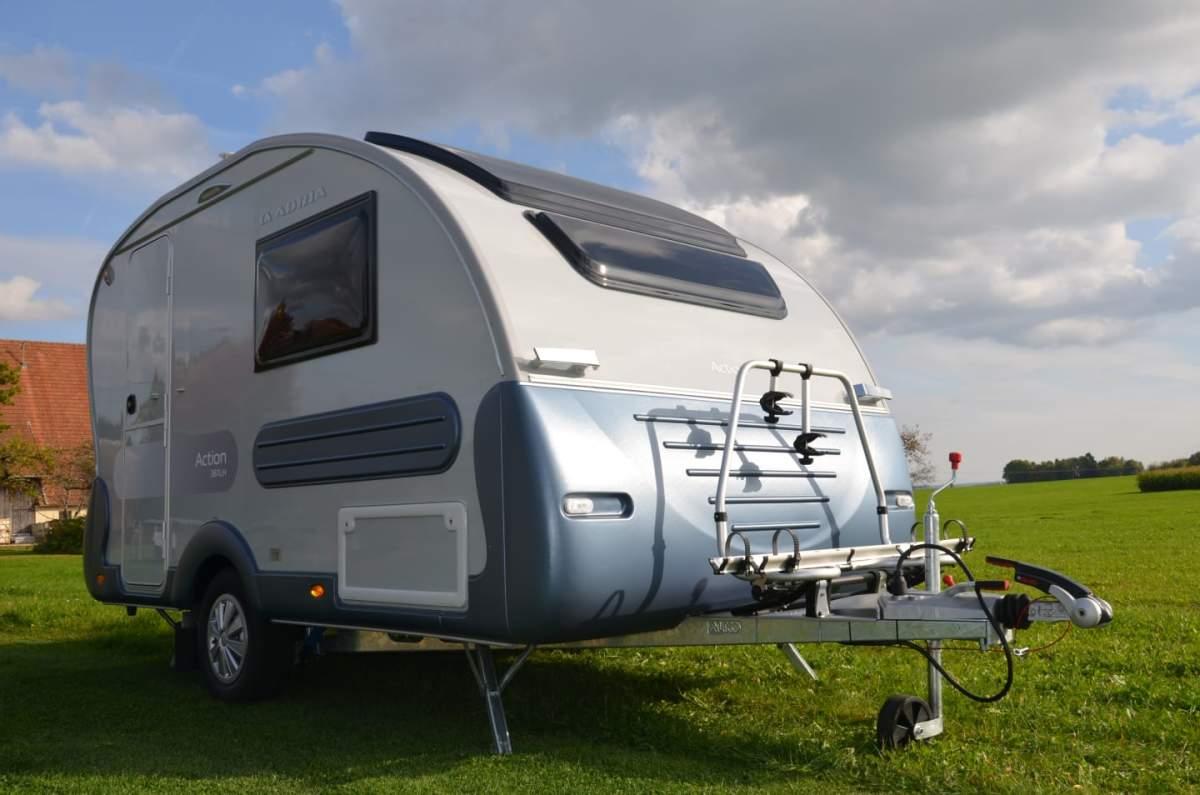 wohnwagen action 361 lh modelljahr 2018 kann mit. Black Bedroom Furniture Sets. Home Design Ideas