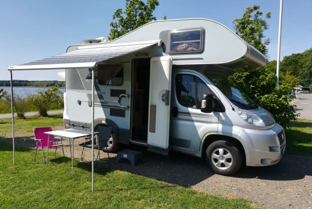 Wohnmobil mieten in Dresden von privat | Knaus Elternzeitmobil Jojo
