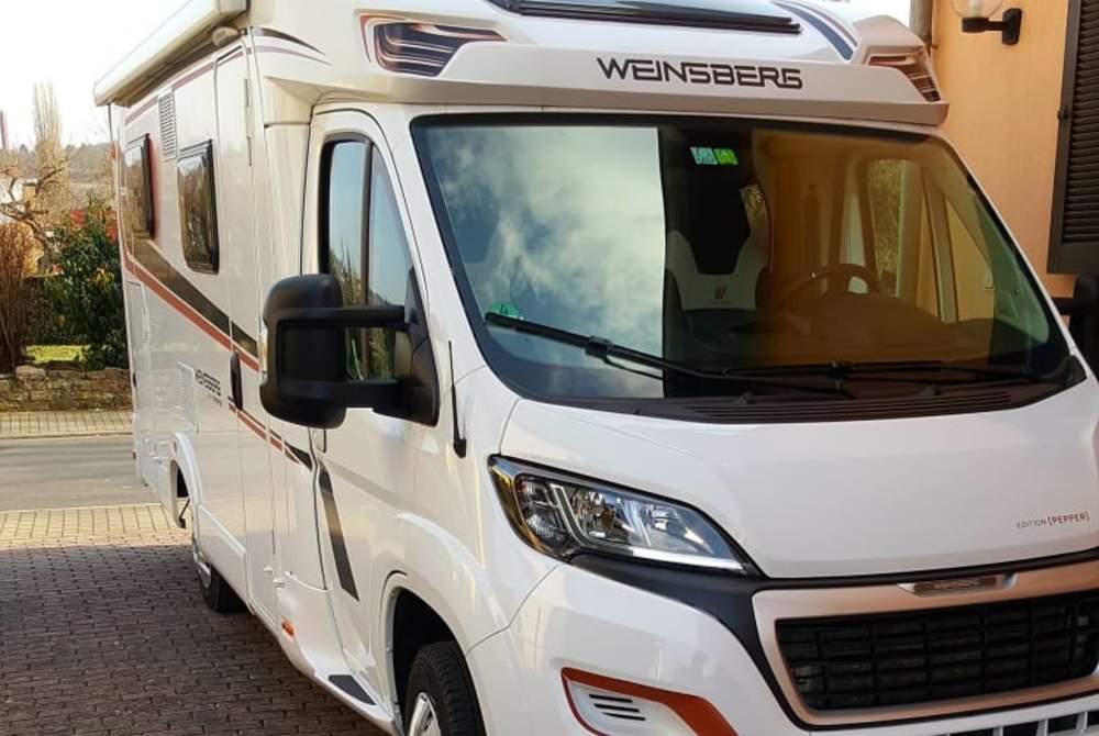 Wohnmobil mieten in Tauberbischofsheim von privat   Weinsberg Aniger65
