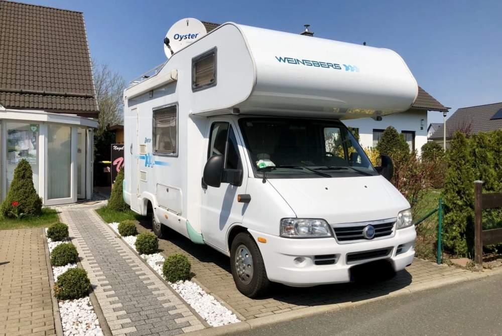 Wohnmobil mieten in Freiberg von privat   Weinsberg Orbiter