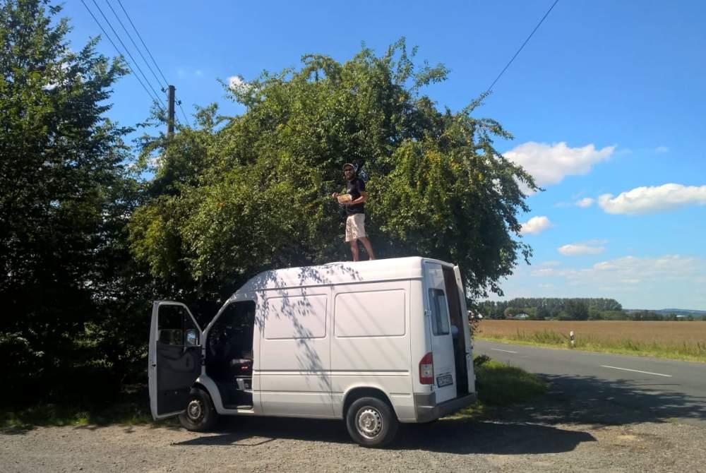 Wohnmobil mieten in Leipzig von privat | Mercedes Fuchur