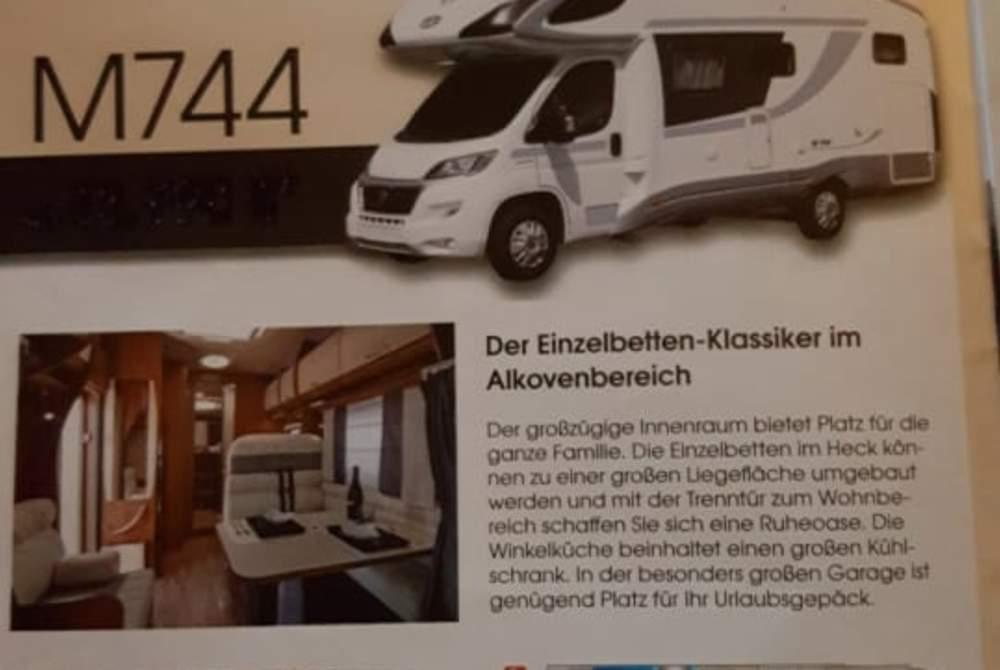 Wohnmobil mieten in Saarbrücken von privat   Citroen PLA 744 Oscar