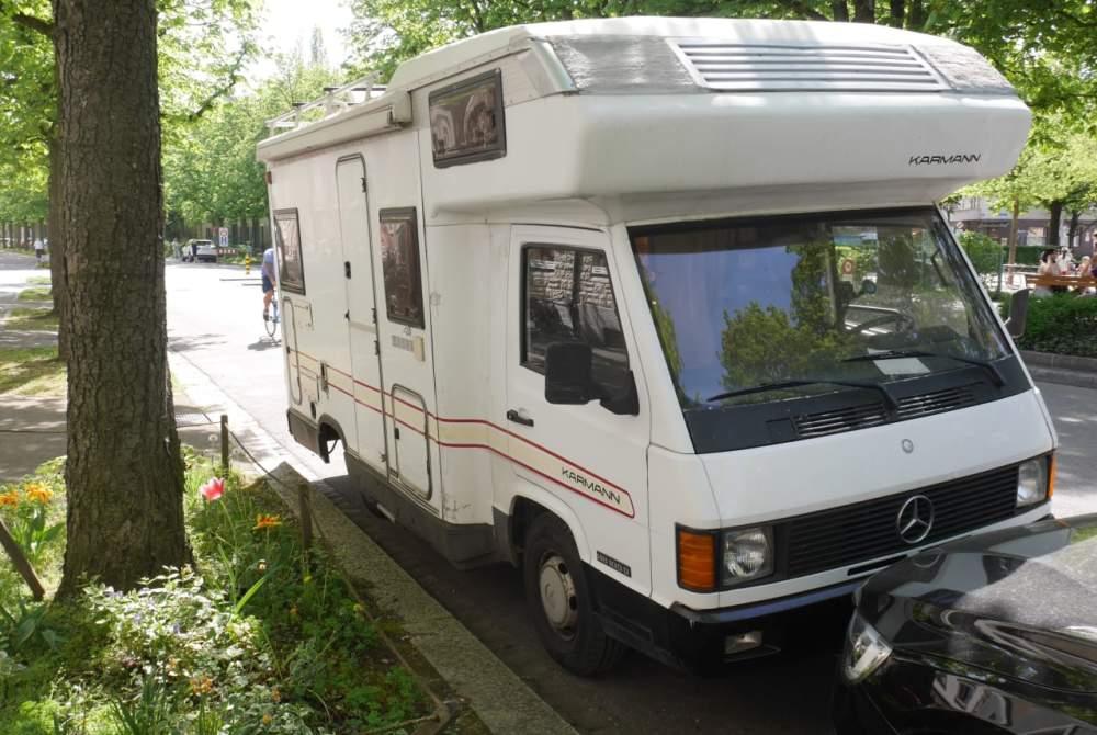 Wohnmobil mieten in Berlin von privat | Mercedes Benz Mercedes Karmann