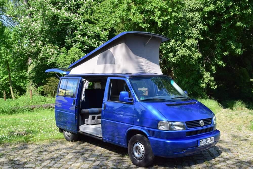 Wohnmobil mieten in Mettmann von privat   Volkswagen California Blue