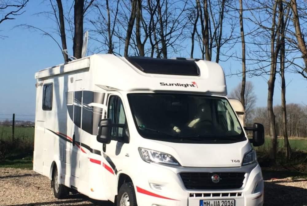 Wohnmobil mieten in Mülheim an der Ruhr von privat | Sunlight Paulina