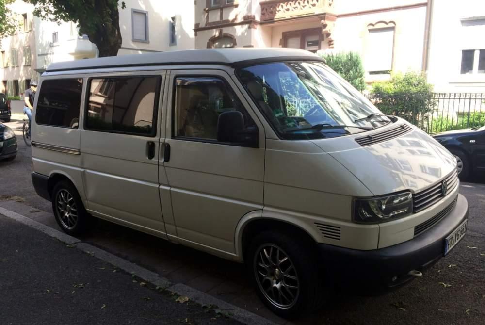 Wohnmobil mieten in Freiburg im Breisgau von privat | VW TAFKAPB- The auto formerly known as Polizeibus