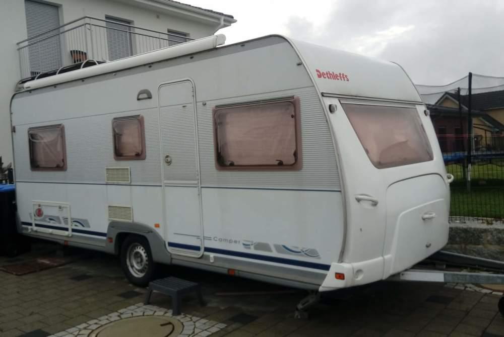 Wohnmobil mieten in Laupheim von privat   Dethleffs Braunis Camper 44