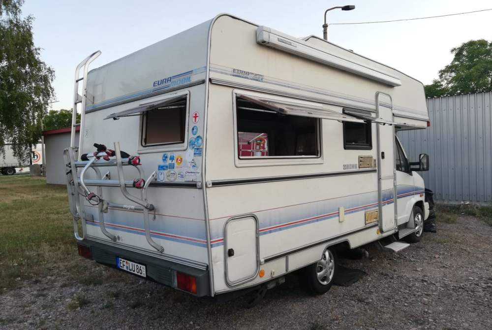 Wohnmobil mieten in Erfurt von privat | Euramobil Angelo