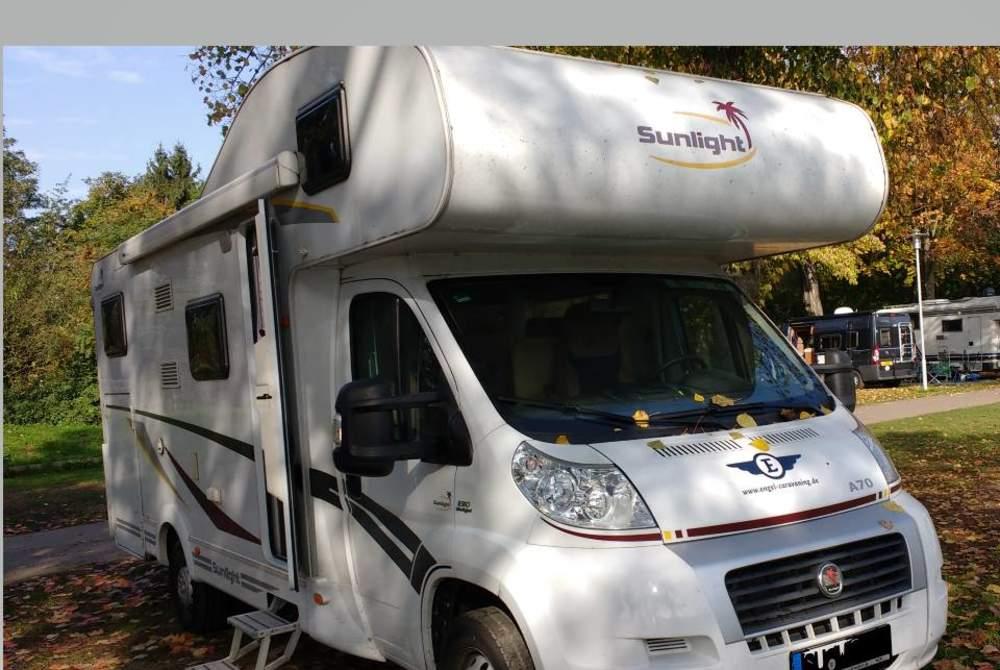 Wohnmobil mieten in Rheinbach von privat   Sunlight Waka