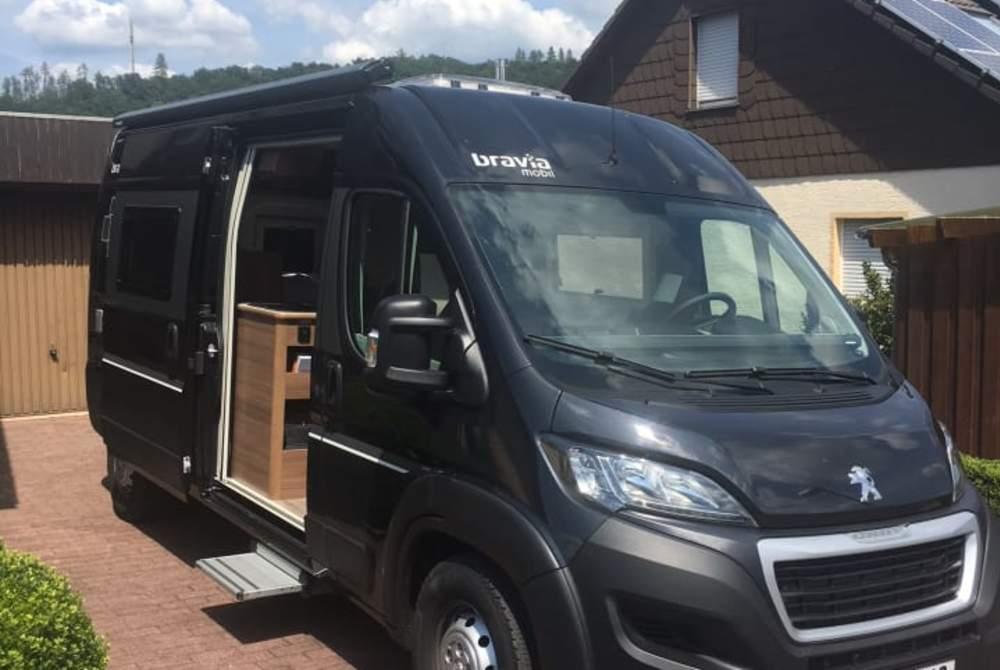 """Wohnmobil mieten in Hannover von privat   Peugeot """"Der Schwan"""""""